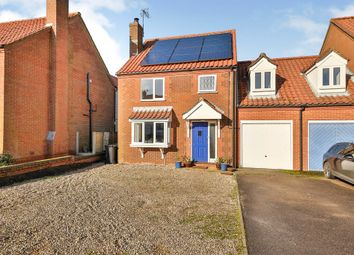 Thumbnail 3 bed link-detached house for sale in Windmill Hill, Great Bircham, King's Lynn