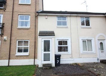 Thumbnail 2 bed terraced house to rent in Darnholm Court, Howdale Road, Sutton-On-Hull, Hull