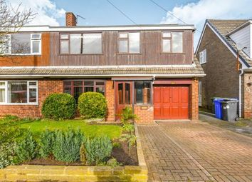 Thumbnail 4 bedroom semi-detached house for sale in Lindfield Close, Moore, Warrington, Cheshire