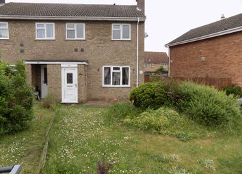 Thumbnail 2 bedroom semi-detached house to rent in Blackbird Road, Beck Row, Bury St. Edmunds