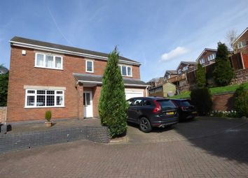 Thumbnail 4 bedroom detached house for sale in Jessica Grove, Bucknall, Stoke-On-Trent