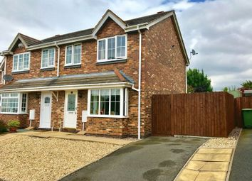 Thumbnail 3 bedroom semi-detached house for sale in 155 Woodside Road, Telford