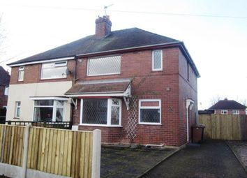 Thumbnail 3 bed semi-detached house to rent in Selworthy Drive, Crewe