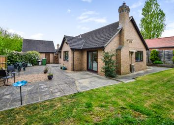 Thumbnail 3 bed detached bungalow for sale in The Paddocks, Six Mile Bottom, Newmarket