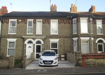 Thumbnail 3 bedroom terraced house for sale in Lowestoft Road, Gorleston, Great Yarmouth