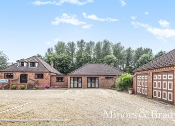Thumbnail 7 bed detached house for sale in Norwich Road, Reepham, Norwich