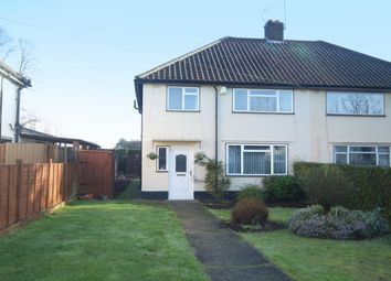 Thumbnail 3 bed semi-detached house for sale in Harvey Lane, Thorpe St. Andrew, Norwich