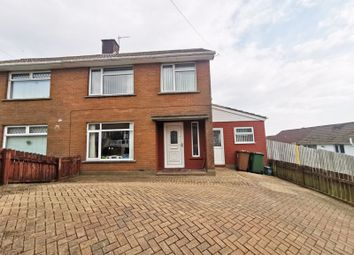 Thumbnail 3 bed semi-detached house for sale in Cefn-Y-Lon, Caerphilly