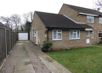 Thumbnail 2 bed terraced bungalow for sale in Buttercup Close, Ipswich