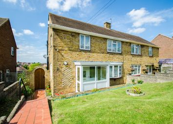 Thumbnail 3 bedroom semi-detached house for sale in St. Hildas Way, Gravesend