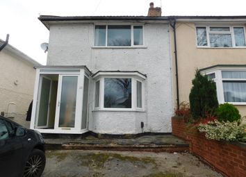 Thumbnail 3 bedroom semi-detached house to rent in Pendeen Road, Birmingham