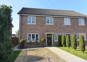 Thumbnail 3 bedroom semi-detached house for sale in Fairways, Hellesdon, Norwich