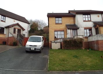 Thumbnail 2 bed semi-detached house for sale in Charlestown Road, St Austell, Cornwall