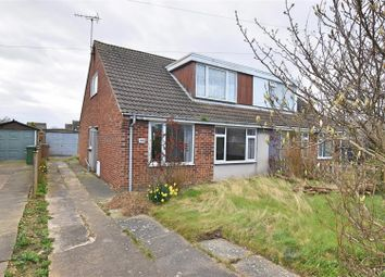 Thumbnail 3 bed semi-detached bungalow for sale in Draycott Avenue, Hornsea