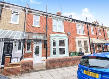 Thumbnail 3 bedroom terraced house for sale in Milton Park Avenue, Southsea
