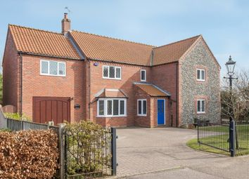 Thumbnail 4 bed detached house for sale in The Pastures, Little Snoring, Fakenham
