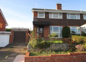 Thumbnail 3 bed semi-detached house to rent in Knowle Drive, Exeter
