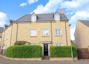 Thumbnail 4 bedroom semi-detached house for sale in Pear Tree Walk, Carterton