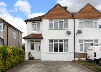 Thumbnail 3 bedroom semi-detached house for sale in Fairford Avenue, Shirley, Croydon