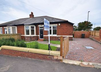 Thumbnail 3 bed semi-detached bungalow for sale in Balfour Road, Newcastle Upon Tyne