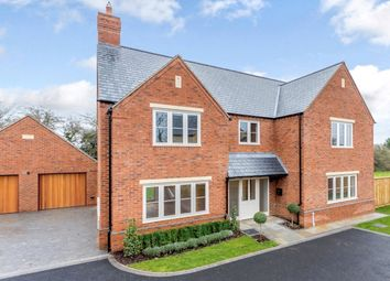 Thumbnail 4 bed detached house for sale in Dingley Road, Great Bowden, Market Harborough, Leicestershire