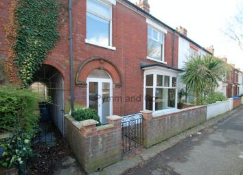 Thumbnail 3 bed terraced house to rent in Beatrice Road, Norwich