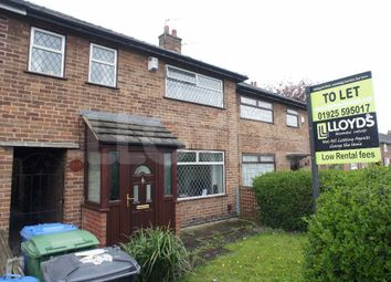 Thumbnail 3 bed town house to rent in Poplars Avenue, Orford, Warrington