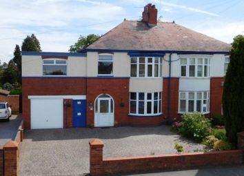 Thumbnail 4 bed semi-detached house for sale in Church Lane, Crewe