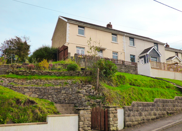 Thumbnail 3 bed semi-detached house for sale in Heol Llwynffynon, Llangeinor, Bridgend