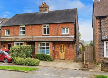 Thumbnail 3 bed semi-detached house for sale in The Mount, Grayswood, Surrey