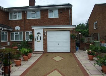 Thumbnail 3 bed semi-detached house for sale in Pine Grove, Woburn Sands