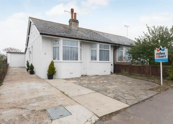 Thumbnail 3 bed semi-detached bungalow for sale in St. Crispins Road, Westgate-On-Sea