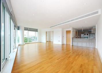 Thumbnail 3 bedroom flat to rent in Ensign House, Battersea Reach