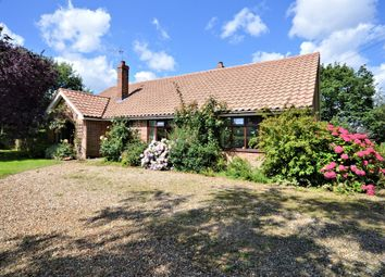 Thumbnail 3 bedroom detached bungalow for sale in Foxley Road, Themelthorpe, Dereham