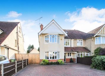 Thumbnail 4 bed semi-detached house for sale in Evelyn Crescent, Upper Shirley, Southampton