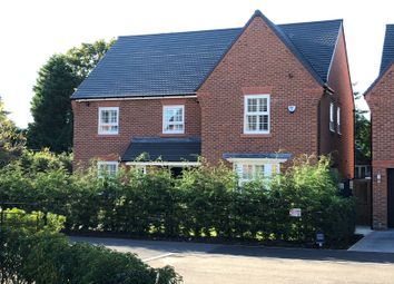 Thumbnail 4 bed detached house to rent in Adlington Road, Wilmslow