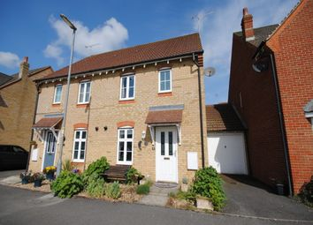 Thumbnail 3 bed semi-detached house to rent in Trent Way, Leighton Buzzard