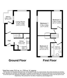 Thumbnail Flat for sale in Woodville, Rochester Way