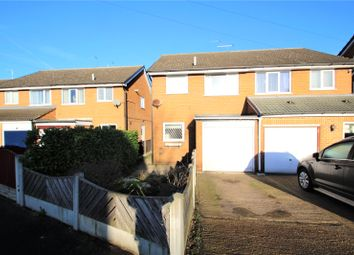 Thumbnail 3 bed semi-detached house for sale in Fernley Green Close, Knottingley, West Yorkshire