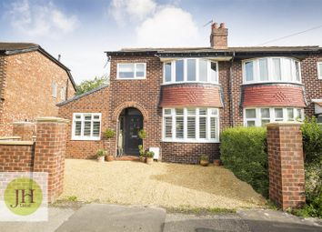 Thumbnail 3 bed semi-detached house for sale in School Road, Handforth, Wilmslow