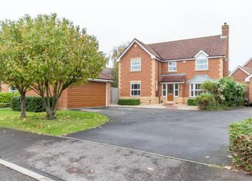Thumbnail 4 bedroom detached house for sale in Hurricane Way, Woodley, Reading