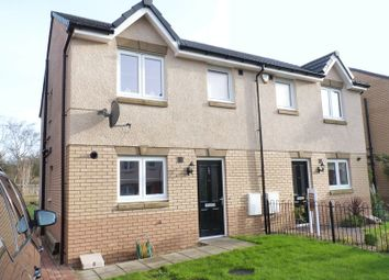 Thumbnail 3 bedroom semi-detached house for sale in Cambridge Crescent, Clarkston, Airdrie