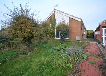 Thumbnail 3 bedroom detached bungalow for sale in Church Road, Kessingland, Lowestoft