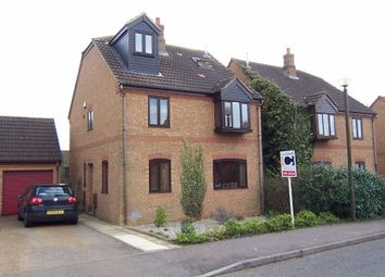 Thumbnail 4 bed detached house to rent in Shuttleworth Grove, Wavendon Gate, Milton Keynes