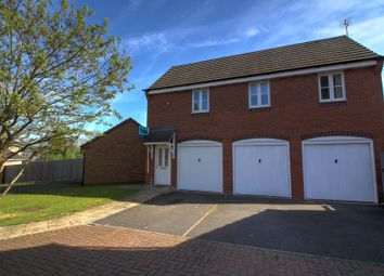 Thumbnail 1 bed flat for sale in Holt Close, Stoney Stanton, Leicester