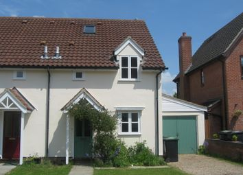 Thumbnail 4 bed semi-detached house to rent in Deben Rise, Debenham, Stowmarket