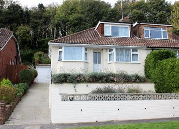 Thumbnail 3 bed semi-detached bungalow for sale in Meadow Close, Rottingdean