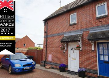 Thumbnail 2 bed semi-detached house for sale in Langham Drive, Rayleigh, Essex
