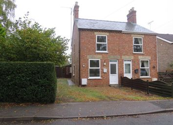 Thumbnail 3 bed semi-detached house to rent in Gosmoor Lane, Elm, Wisbech