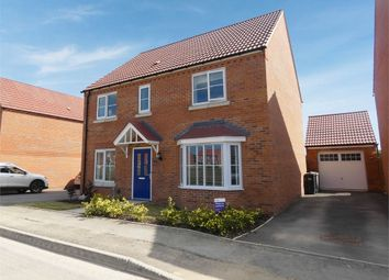 Thumbnail 4 bed detached house for sale in Albatross Way, Louth, Lincolnshire